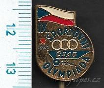 Odznak doprava - ČSAD KNV Praha Sportovní olympiáda /FA-AM.100