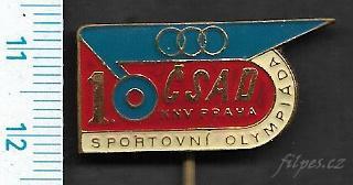 Odznak doprava - ČSAD KNV Praha Sportovní olympiáda /FA-AM.101