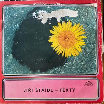 Jiří Štaidl – Texty - LP vinyl
