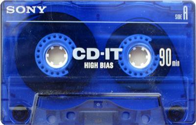 Audio Kazeta SONY CD it 90 CD it2 60 Position Chrome Blue 2ks MC