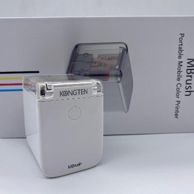 Ruční přenosná bezdrátová mini tiskárna Mbrush WIFI USB