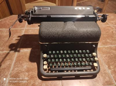 Starý psací stroj Zeta / Funkční