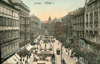 Wien / Vídeň (Rakousko) .