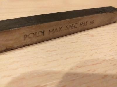 RADECO POLDI MAX SPEC HSS 55  11 x 11 mm délka 100 mm NOVÁ CENA