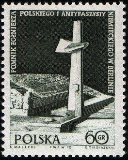 Polsko 1972 Známky Mi 2159 ** Druhá světová válka Kombatant památník