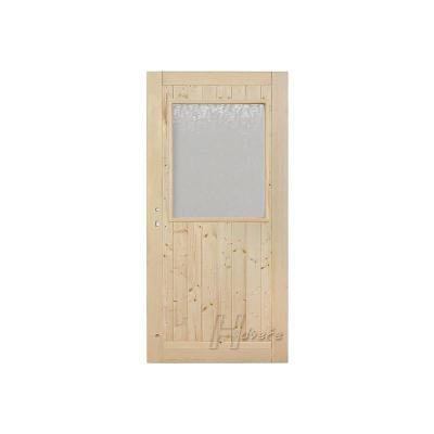 Palubkové dveře vchodové 1/3 sklo