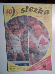 Časopis, Stezka, č. 10/1989-1990, zachovalý stav