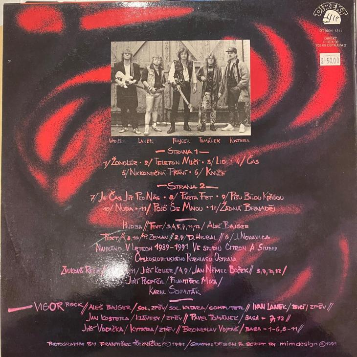 Aleš Bajger (Progres 2) – Vigor Rock - LP vinyl - Hudba