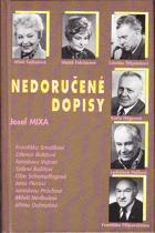 Josef Mixa Nedoručené dopisy 1996