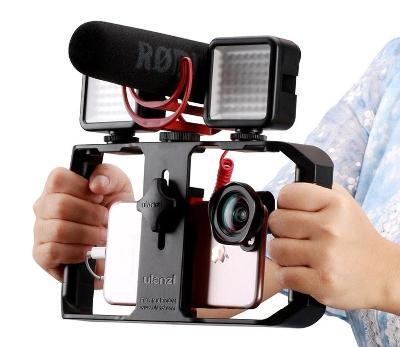Ulanzi U-Rig Pro - duální grip, stabilizátor na mobil smartphone, vlog
