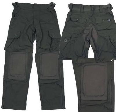 Vojenské kalhoty zelené komando