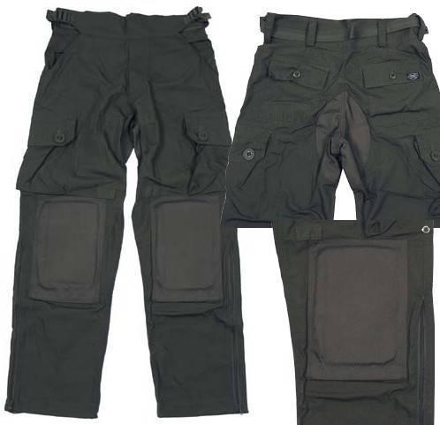 Vojenské kalhoty zelené komando - Vojenské
