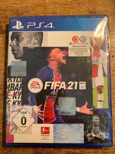 FIFA 21 - PS4 - PLAYSTATION 4 - NOVÁ - ZABALENÁ