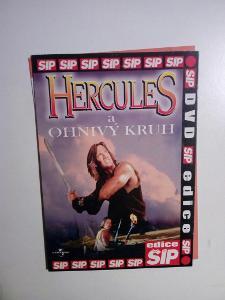 DVD, film Hercules a ohnivý kruh