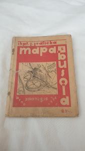 škpt.Jedlička Mapa a Busola 1932-vše i mapach-1.republika