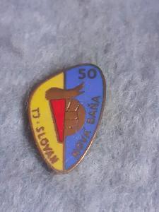 Odznak TJ Slovan Baňa 50 let