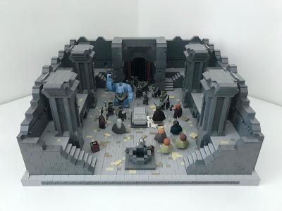 LEGO LotR / Hobbit MOC - Mines of Moria model (9473)