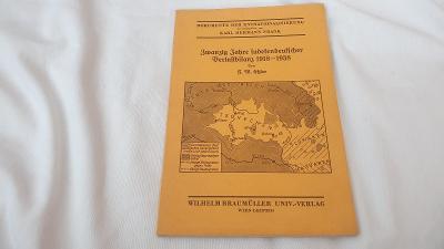 Karl Hermann Frank-1918-1938 sudetoněmecké bilance-národnostní mapy