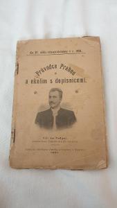 Průvodce Prahou z roku 1901
