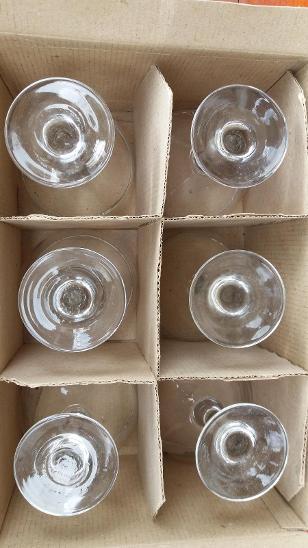 Krásné šampusky v originálním balení - šest kusů - Starožitnosti