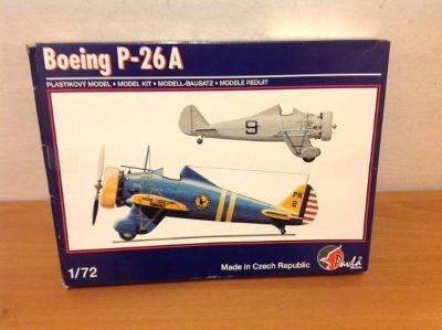 PAVLA MODELS - Boeing P-26A, 1/72