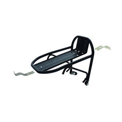 Nosič hliníkový, mini, montáž nad přední nebo (i) zadní kolo