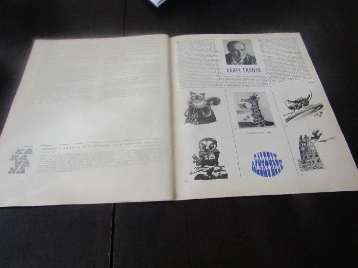Časopis KARAVANA/Ó,MARŤANE!/1982 - Antikvariát