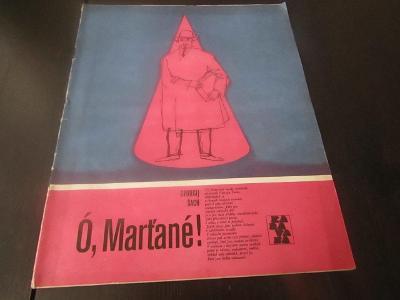 Časopis KARAVANA/Ó,MARŤANE!/1982