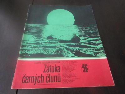 Časopis KARAVANA/ZÁTOKA ČERNÝCH ČLUNŮ/1975