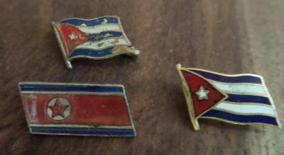 ODZNAK VLAJKY, KUBA A KOREA