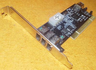 3x FireWire interní karta SWEEX do PCI !!!