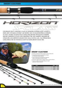 Fox Matrix Rybářský prut Horizon S Class Feeder Rod 3.6m 60g