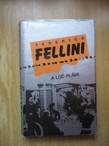Fellini Federico - A loď pláva (1. vydání)