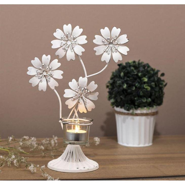 Svícen kytky  - Starožitnosti