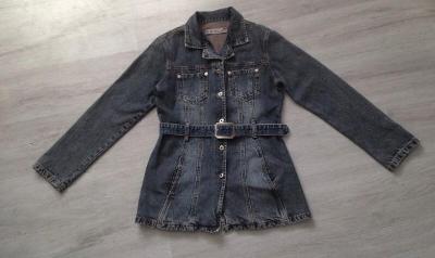 Džínový kabát , bunda ,sako- vel.M/38 , zn:B.B.W. jeans - Top stav