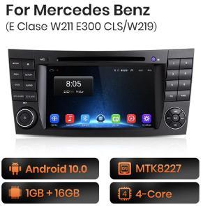 2din radio do Mercedes W211 W219 E200 E220 E300 Mercedes E Class GPS
