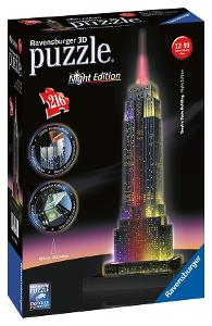 3D Puzzle - EMPIRE STATE BUILDING  / Ravensburger Night Edition
