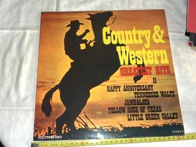 COUNTRY  + WESTERN  2 ..  LP deska .. vinyl.. pěkný stav 99%