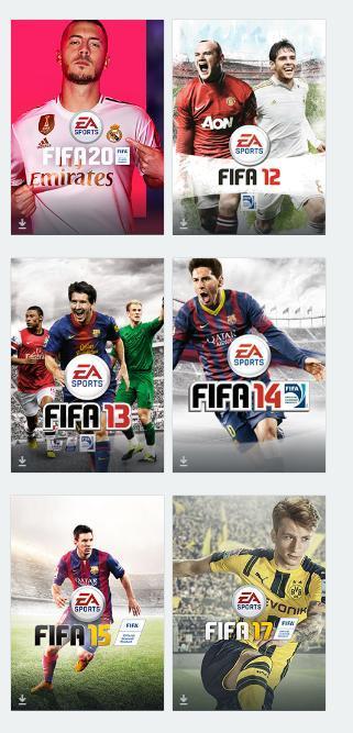 Sběratelská edice hry FIFA - Origin