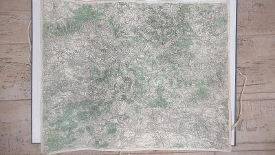 Vojenská mapa 3752-Litoměřice-Terezín-Milešov-Ústí n. L-SUDETY-1935