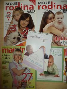 Časopisy Moje rodina 2 ks,maminka 1 ks  - konvolut