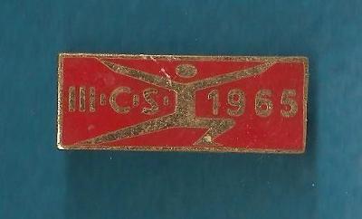 SPARTAKIÁDA 1965 - SMALT, NA SPONU   *s22