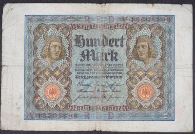 100 Mark 1920 s.Y
