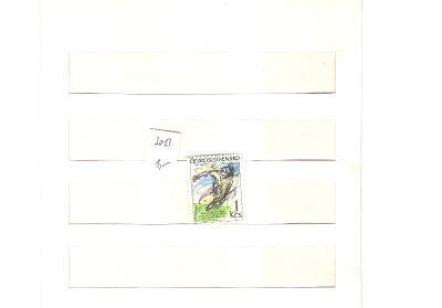 ČSR č.3013 ** MS Juniorů ve stolním tenise