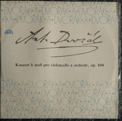 LP Antonín Dvořák - Koncert H Moll Pro Violoncello A Orchestr