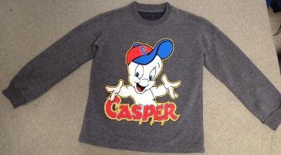 Dětská mikina Casper - vel.140/146 - Top stav