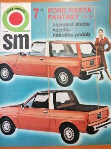 Časopis Svět Motorů 1979/7, Ford Fiesta Fantasy