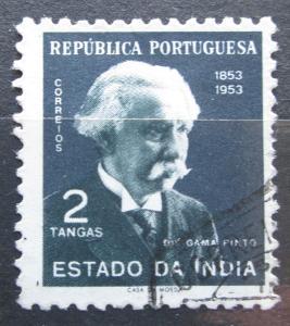Portugalská Indie 1954 Caetano Gama Pinto Mi# 494 0077