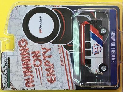 1971 Ford Club Wagon - BFGoodrich - Greenlight 1/64 (H3-G7)