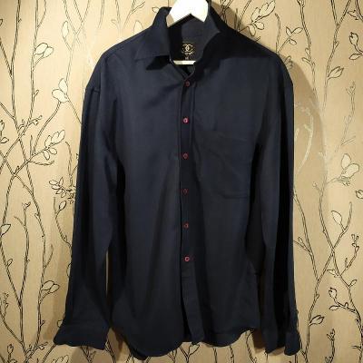 Pánské košile Ciro Citterio velikost M, tmavě modrá